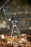 dirty chair by JensStockCollection