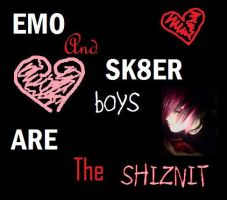Emo and Sk8er boy truth... by txrabbit