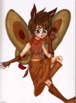 Moth Girl by TheLuckyStarhopper