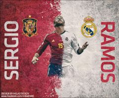 Sergio Ramos by milad10