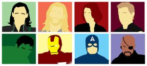 The Avengers by The-Blind-Kunoichi