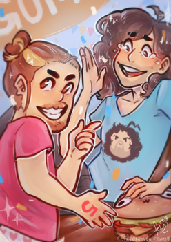 5 years of GameGrumps! by FrederikkeFrode