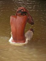 Washing Water, Sudan by Jenvanw