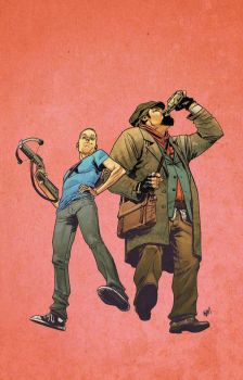 The Adventures of Archer and Armstrong #7 by ADAMshoots