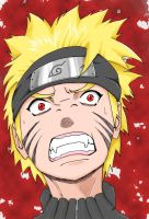 Naruto - Rage COLOR by 93sign