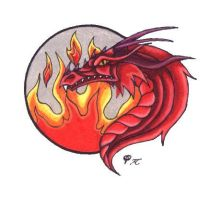 Fire Dragon by Skychaser