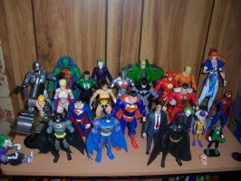 Figure Collection Revisited 1 by Anicomicgeek