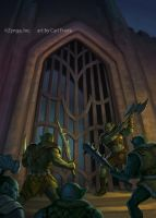 Orcs at the gate by SeeEffEye