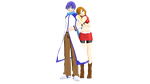 Animasafied YM KAITO and TDA MEIKO by slyfan1030