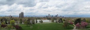Downtown Denver Panorama by designsbykari