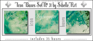 Icon Bases Set No. 31 by Sibelle