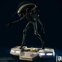 Giger ALIEN, Nostromo base II by locusta