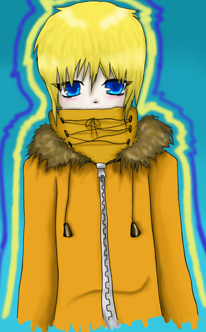 Kenny is cold xD