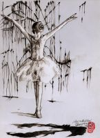 Sketch- Sugarplum Fairy by tankgirly