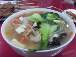 Glass Noodles Soup by Gexon