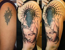 Polka Mary by SimplyTattoo