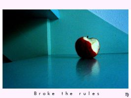 Broke the rules... by BlackAngelicious