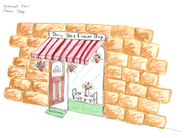 French Style Shop Front by iloveminties