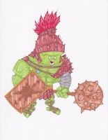 PLANET HULK GREEN SCAR by hclix