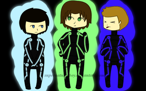 Team Free Will Tron by supernaturalboy