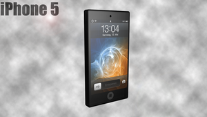 iPhone 5 Concept by irgames