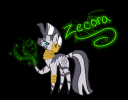 Simple Zecora by Void-Adoptables