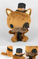 The Gentleman - Steampunk Critter Plush by SewDesuNe
