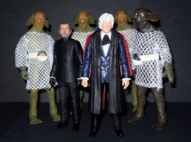 Doctor, Master and Sea Devils by CyberDrone