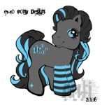 emo pony design by antinonconformist