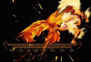 Arcanine- Ignite the Flame by FreeshootXiggy