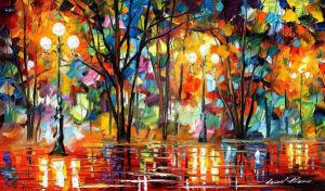 Expectation Of Love by Leonid Afremov by Leonidafremov