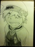 Soul Eater Evans by insanemoose16
