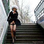 down the stairs by MissTing