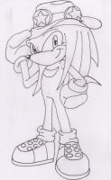 knuckles the echidna 10 years by angel-de-la-verdad