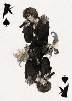 D'espairsRay Deck - King of Spades by robbiedraws