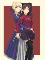 Fate Stay Night by locke20