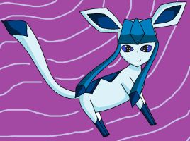 yet another Glaceon by XxQueenofChaosxX