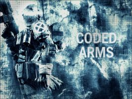 Coded Arms by spilling-heart