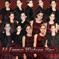 Pack 6 Emma Watson Png by oscarelnoble