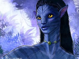 Even More Neytiri by Hyptosis