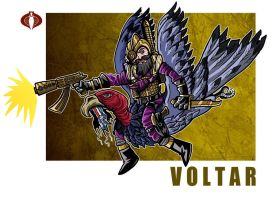 G. I. Joe Fan Art: Voltar by ehudsbloodysword