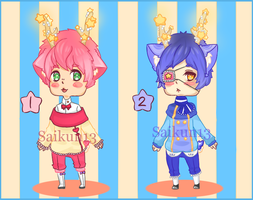 (Open) Starry sprites Adopts #1 (lower price) by Alpha-sai