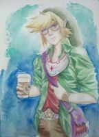 Hipster Link by MinishCapsLock