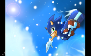 Sonic: Olympic Winter Games by chocolatecherry