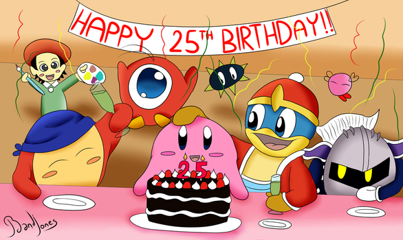 Happy 25th Birthday! by BandiJones