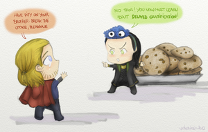 Delayed Gratification according to Loki by VideaVice
