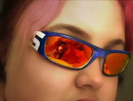 A Freak and Her Sunglasses by manicstreetpreacher