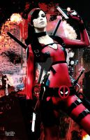 Fem Deadpooly by ZOMBIEBITME