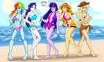 Commission : MLP beach by yinyi123