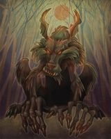 werewolf by Kravenous